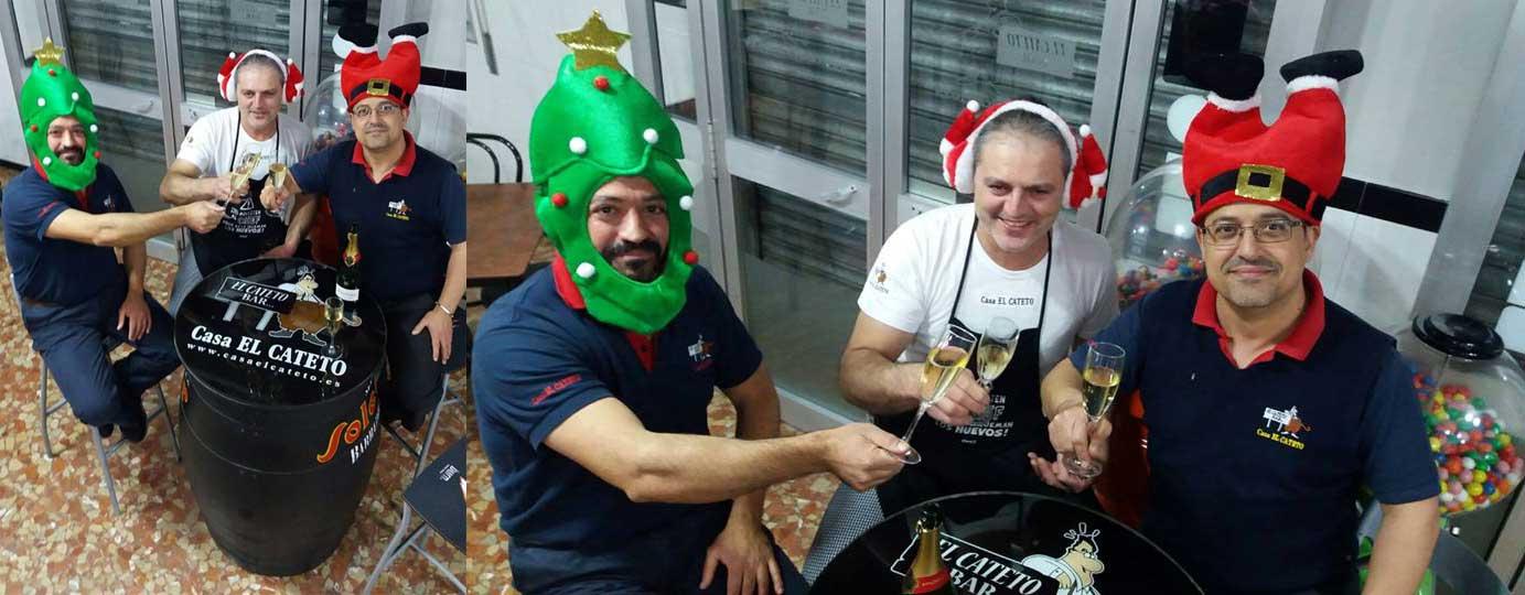 Feliz Navidad 2016 Bar Casa EL CATETO
