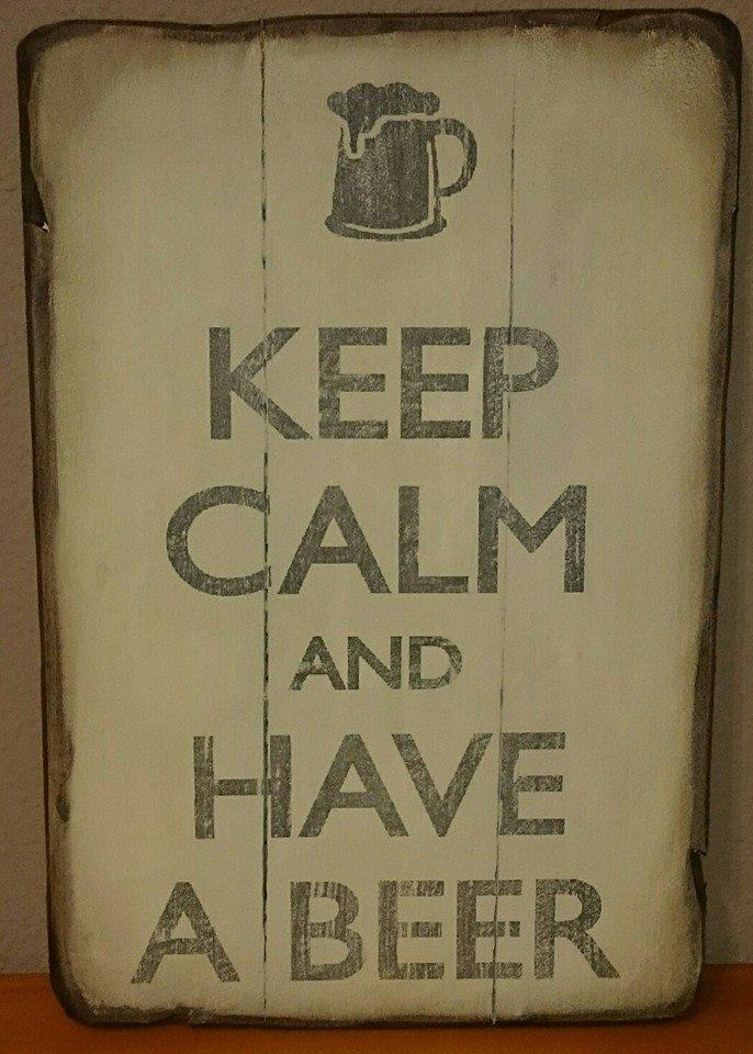 KEEP CALM AND HAVE A BEER Bar Casa EL CATETO