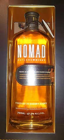NOMAD OUTLAND WHISKY en Bar Casa EL CATETO