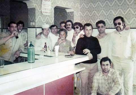 Taberna de los inicios del Bar Casa EL CATETO
