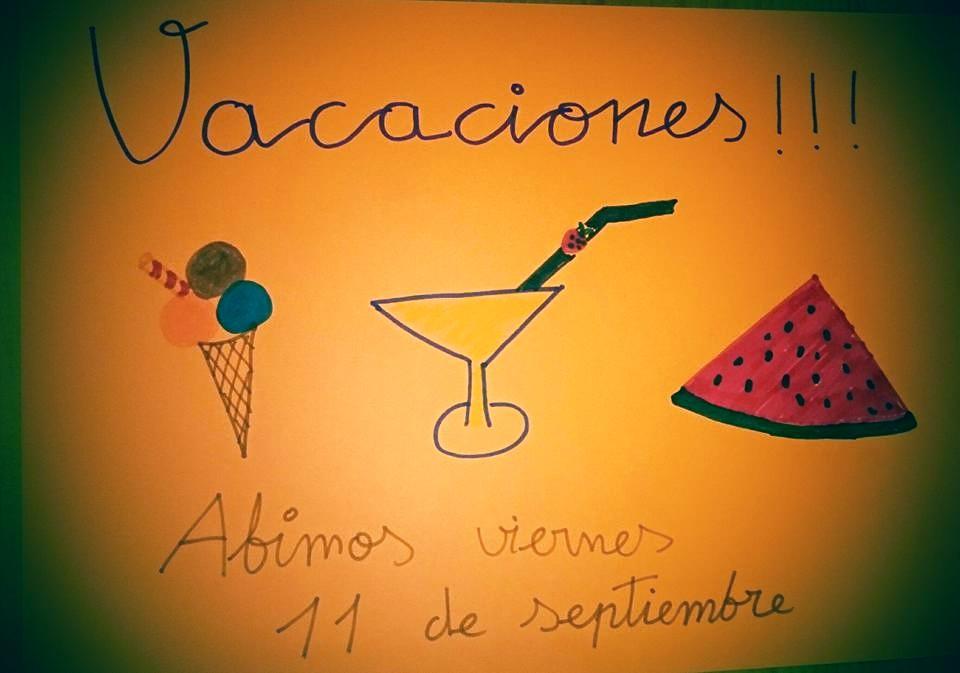 Cerrado por Vacaciones Bar Casa EL CATETO