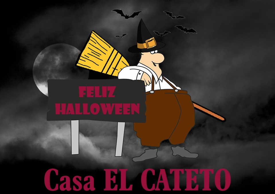 Feliz Hallowen 2015 Bar Casa EL CATETO