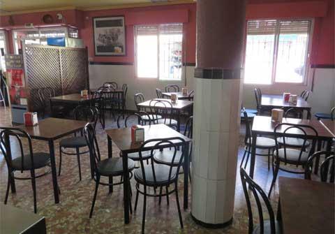 Salón del Bar Casa EL CATETO